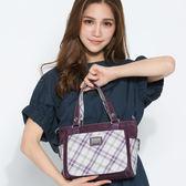 【金安德森】輕。女伶 簡約百搭籃型包-蘿蘭紫