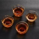 錘紋玻璃品茗杯單個