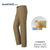 【速捷戶外】日本 mont-bell 1105471 Strech O.D. 男彈性長褲(黃褐色) ,登山長褲,旅遊長褲,montbell