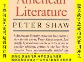 二手書博民逛書店Recovering罕見American LiteratureY466342 Peter Shaw Ivan