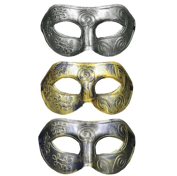 衣童趣(•‿•)兒童 成人角色扮演配件 萬聖節 威尼斯面具 神秘變裝造 仿古面具【現貨】