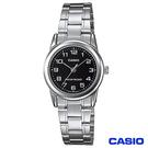 CASIO卡西歐 時尚休閒女性腕錶 LTP-V001D-1B