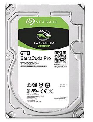 Seagate 希捷 6TB (ST6000DM004)【新梭魚PRO】256M/7200轉/五年保【刷卡分期價】
