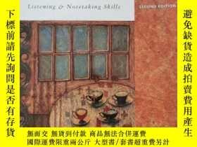 二手書博民逛書店Noteworthy罕見Listening and notetaking skills 書內有鉛筆字跡Y234