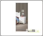 {{ 海中天休閒傢俱廣場 }}  G-9 摩登時尚 臥室系列 74-3   維格白色床頭櫃