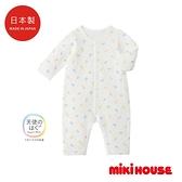MIKI HOUSE BABY 日本製 新生兒長袖連身服