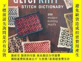 二手書博民逛書店AlterKnit罕見Stitch Dictionary: 200 Modern Knitting Motifs奇