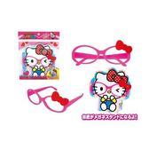 【震撼精品百貨】Hello Kitty_凱蒂貓~兒童用眼鏡玩具-桃#01214