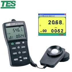 【送TAF檢測報告】TES泰仕 TES-1339R 專業級照度計 (RS-232)