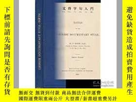 二手書博民逛書店Notes罕見on the Chinese Documentar