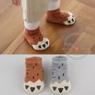 襪子 防滑 嬰兒 腳爪 毛圈襪 加厚 保暖 兒童 短襪 BW