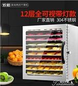 食品烘乾機 220V熾陽食品烘干機家用商用水果果蔬溶豆寵物肉食物風干機干果機小型 新年禮物YYS