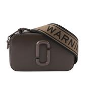 【MARC JACOBS】防刮牛皮Snapshot DTM 相機包(全褐色) M0014867 030