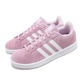 【六折特賣】adidas 休閒鞋 Cloudfoam Advantage 粉紅 白 麂皮鞋面 百搭 基本款 女鞋 【PUMP306】 B42125