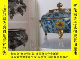 二手書博民逛書店《皮埃爾•烏德瑞收藏中國景泰藍》1985年1版1印罕見大開厚冊