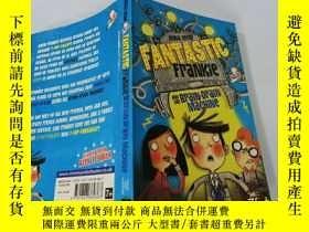 二手書博民逛書店Fantastic罕見Frankie and the Brain—Drain Machine:神奇的弗蘭基和人才流