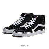 VANS 休閒鞋 SK8-HI 黑白 高筒 經典款 男女 (布魯克林) VN000D5IB8C