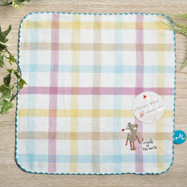 ‖ 買二送ㄧ ‖ 日本今治 - KONTEX - Duo方巾(藍)《日本設計製造》