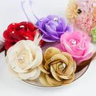 非常婚禮用品 玫瑰水鑽胸花/夾