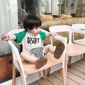 兒童短袖女童t恤男孩韓版上衣夏季童裝1-3歲 奇思妙想屋