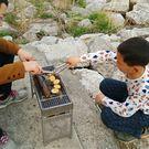 燒烤用品戶外燒烤架子木炭家用燒烤爐子烤肉架碳烤肉爐子燒烤箱架  果果輕時尚