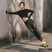 緊身褲提臀彈力健身褲女運動蜜桃臀跑步速干訓練瑜伽褲【創世紀生活館】