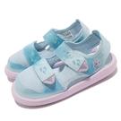 adidas 涼鞋 Water Sandal CT 冰雪奇緣 藍 粉紅 童鞋 中童鞋 愛迪達 【ACS】 FY7900