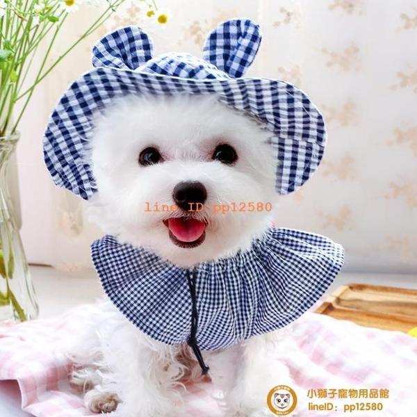 夏季新品狗狗衣服泰迪比熊博美薄款公主連衣裙子套裝小型犬小狗狗【小獅子】
