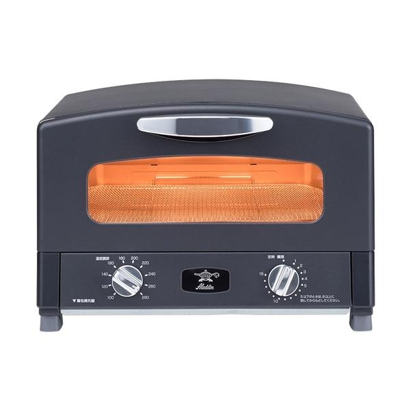 (贈食譜)【日本 Sengoku Aladdin】千石阿拉丁烤箱 AET-G13T 霧光黑
