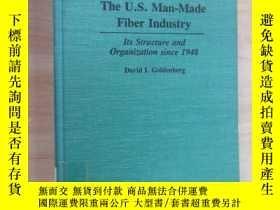 二手書博民逛書店The罕見U .S.Man-Made Fiber Industy