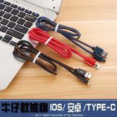 充電線 數據線 傳輸線 快速充電 防纏繞 IOS 安卓 TYPE-C 牛仔數據線 AP6
