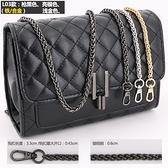 包包鏈條單買配件包包鏈子金屬鏈條單肩斜挎小背包帶子百搭寬鐵鏈