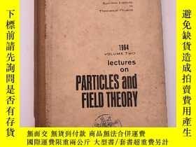 二手書博民逛書店lectures罕見on particles and field