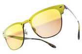 RayBan 水銀太陽眼鏡 RB3576N 90377J (藍) 時尚派對潮流眉框黃水銀款 # 金橘眼鏡