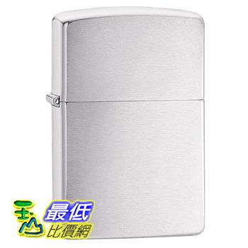[104 美國直購] Zippo Brushed Chrome Pocket Lighter 打火機 拉絲鉻