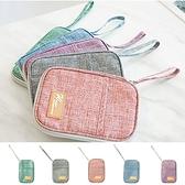 證件包 護照夾 收納包 保護套 旅行 卡包 機票 出國 韓國 刷色證件護照包【N351】米菈生活館