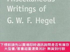 二手書博民逛書店Miscellaneous罕見Writings (spep)Y255174 G. W. F. Hegel No