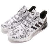 adidas 籃球鞋 Harden B/E X 白 黑 平民版 低筒 舒適緩震 運動鞋 男鞋【PUMP306】 CG5982