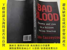 二手書博民逛書店BAD罕見BLOOD(惡感)外文版Y200392