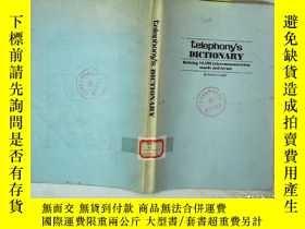 二手書博民逛書店TELEPHONY S罕見DICTIONARY DEFINING