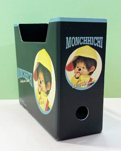 【震撼精品百貨】monchhichi_夢奇奇~置物盒/收納箱-黑#88801