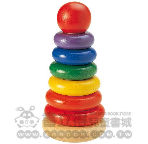 書立得-套圈疊疊樂new stacking rings(WW-1162)益智玩具