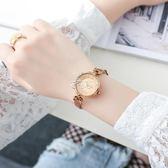 女式手錶 手錶女學生韓版簡約時尚款小清新皮帶防水潮流女錶 俏腳丫