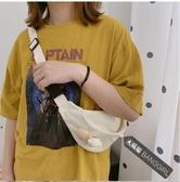 韓國INS可愛少女心小熊腰包chic日系學生原宿軟萌古著感童趣胸包 伊衫風尚