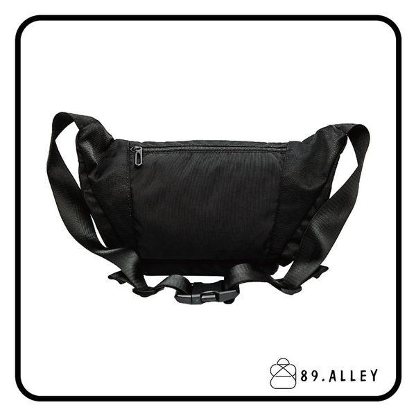 腰包 單肩包  女包男包 黑色系防水包 輕量尼龍立體圓弧情防搶包 89.Alley ☀1色 HB89151