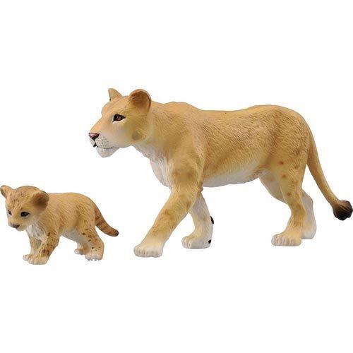 TOMICA多美動物園 AS17 獅媽媽與寶寶_ AN83201