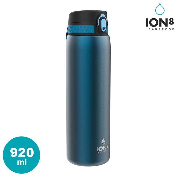 ION8 Quench Thermal 保溫水壺 I8TS1000【FBLU藍】 / 城市綠洲(雙層不鏽鋼 100%防漏 運動水壺 大容量)