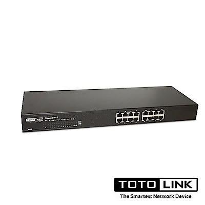 TOTOLINK 16埠乙太網路交換器SW16