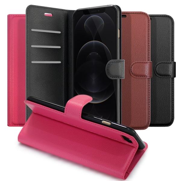 Dapad for iPhone 12 / iPhone 12 Pro 6.1 / 12 Mini 5.4 / 12 Pro Max 6.7 百搭時代多卡式夾層皮套 請選型號顏色