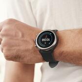 FOSSIL 夏季限定智慧手錶-黑/43mm FTW4019
